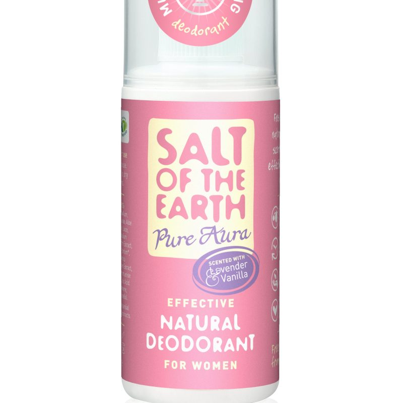 Win One of 5 Salt of the Earth Pure Aura Natural Deodorant Sprays