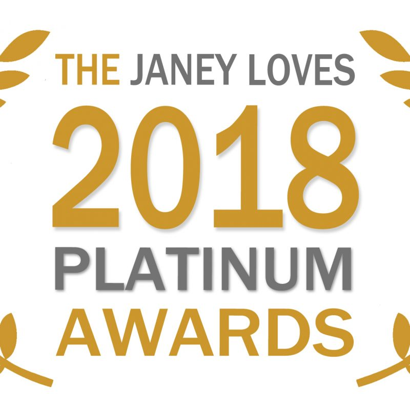 JANEY LOVES 2018 Platinum Awards!