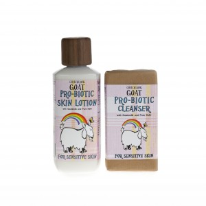 Chuckling Goat Probiotic Skin lotion cleanser
