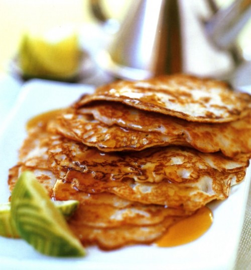 Make your own style pancakes with coconut milk made with TIANA Coconut Goodness