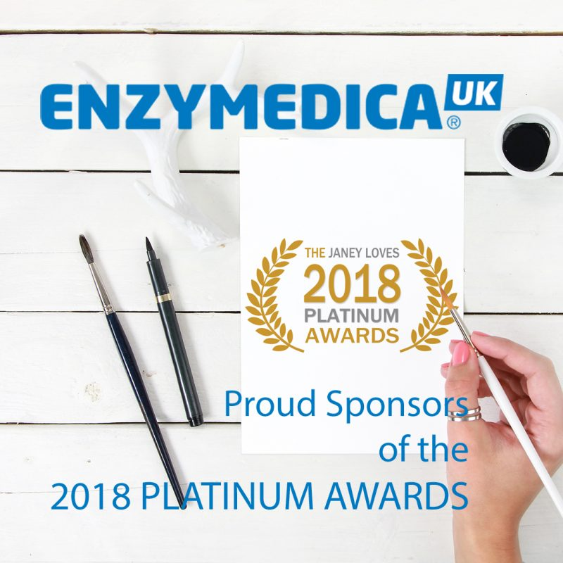 Sponsors of Janey Loves 2018 Platinum Awards – Enzymedica