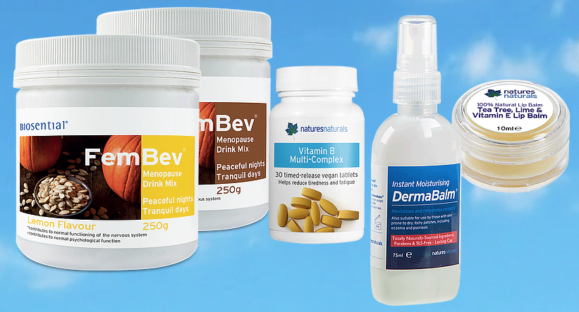Be one of THREE lucky winners of Natures Naturals' FemBev Menopause System* worth over £55!