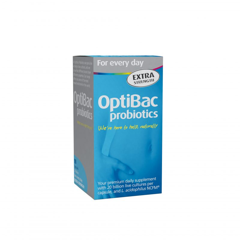 Win a 3 month supply of OptiBac Probiotics 'For Every Day EXTRA Strength' worth £59.99!