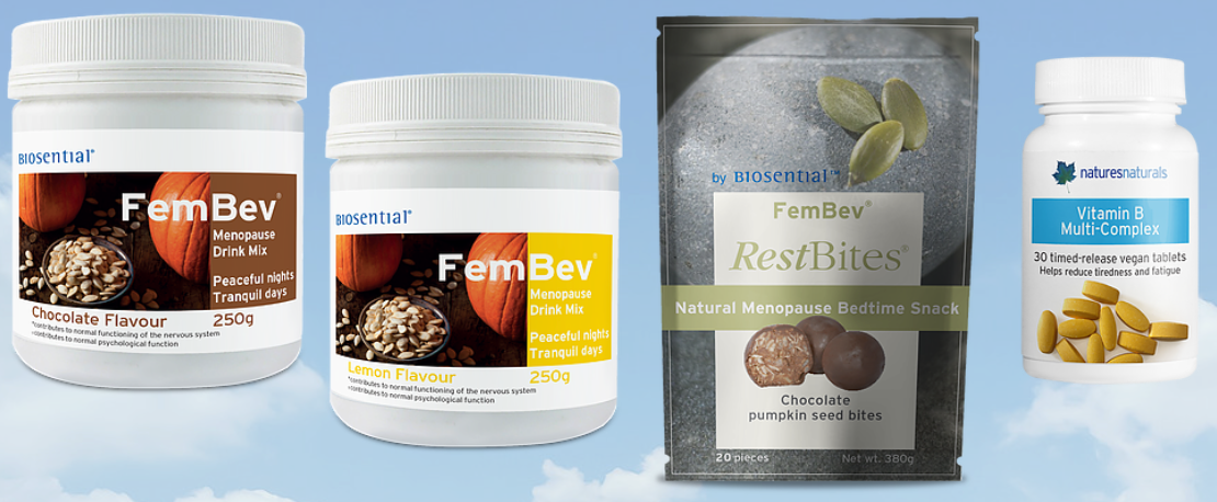 Be 1 of 3 lucky winners of the FemBev Menopause System* from Natures Naturals (worth over £50)!