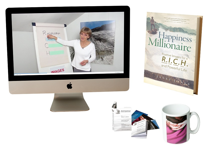 Your chance to WIN a Happiness Millionaire Motivation Program with Janet Jones – Worth £709!