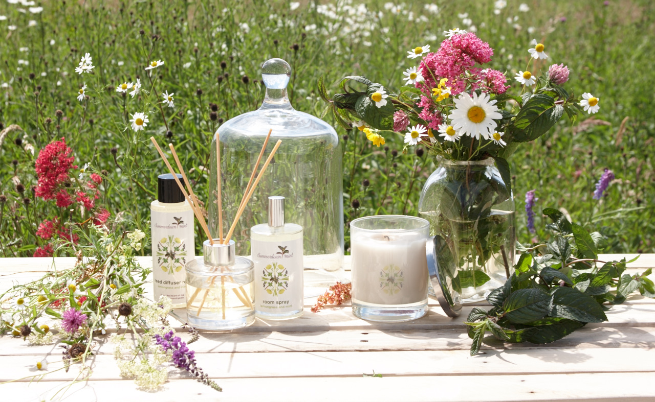 Win the home fragrance range from Summerdown Mint worth £63!