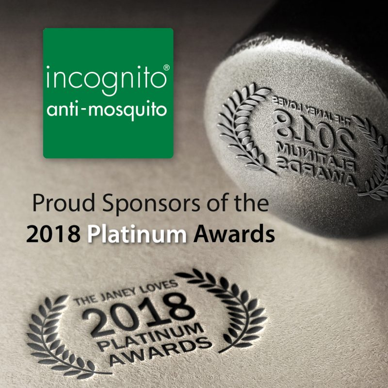 Sponsors of Janey Loves 2018 Platinum Awards – Incognito