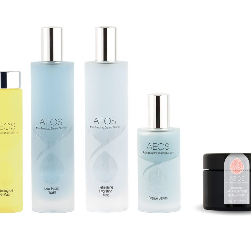 Win a gift pack of skin care from AEOS worth £378.70!