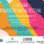 mindful drinking fest poster