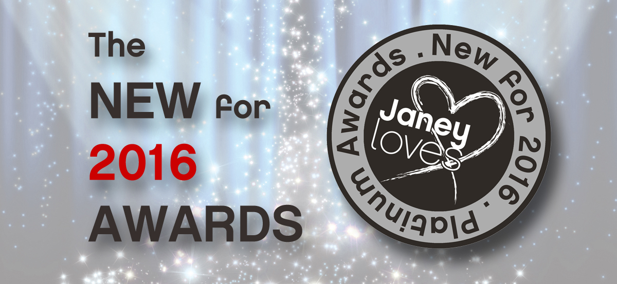 Introducing the 'New for 2016' Awards