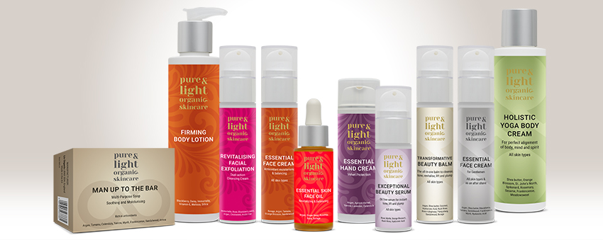 Win a voucher worth £200 from Pure & Light Organic Skincare