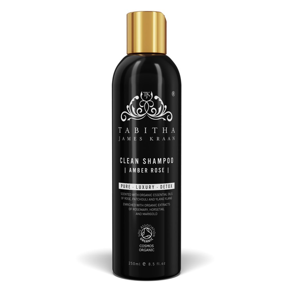 tabitha jk clean-shampoo-amber-rose-by-tabitha-james-kraan-250ml