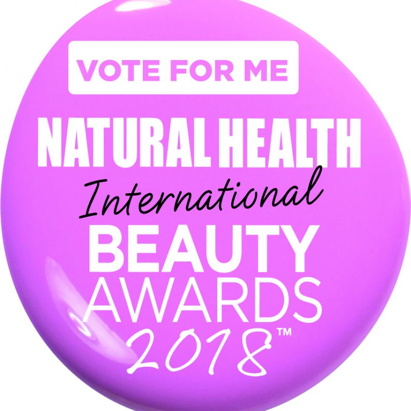Vote for me! Natural Health Holistic Hero awards