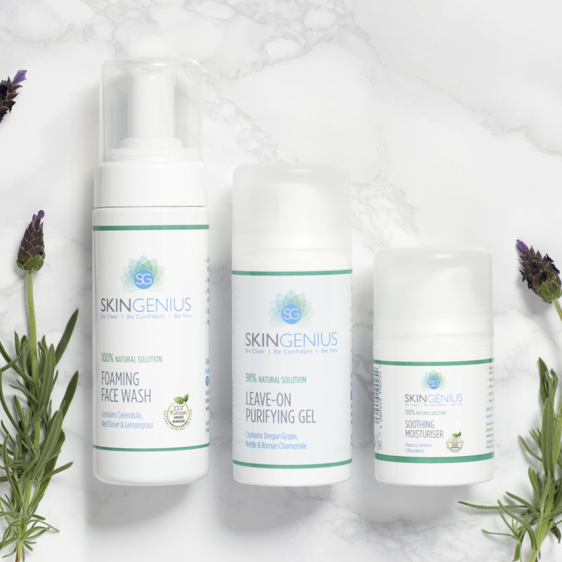 Win a complete set of SkinGenius Skincare worth £56.97!