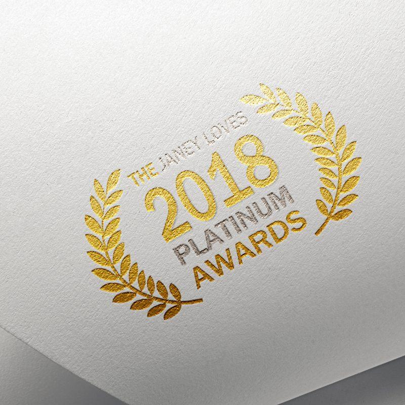 Sponsors of Janey Loves 2018 Platinum Awards – NATorigin