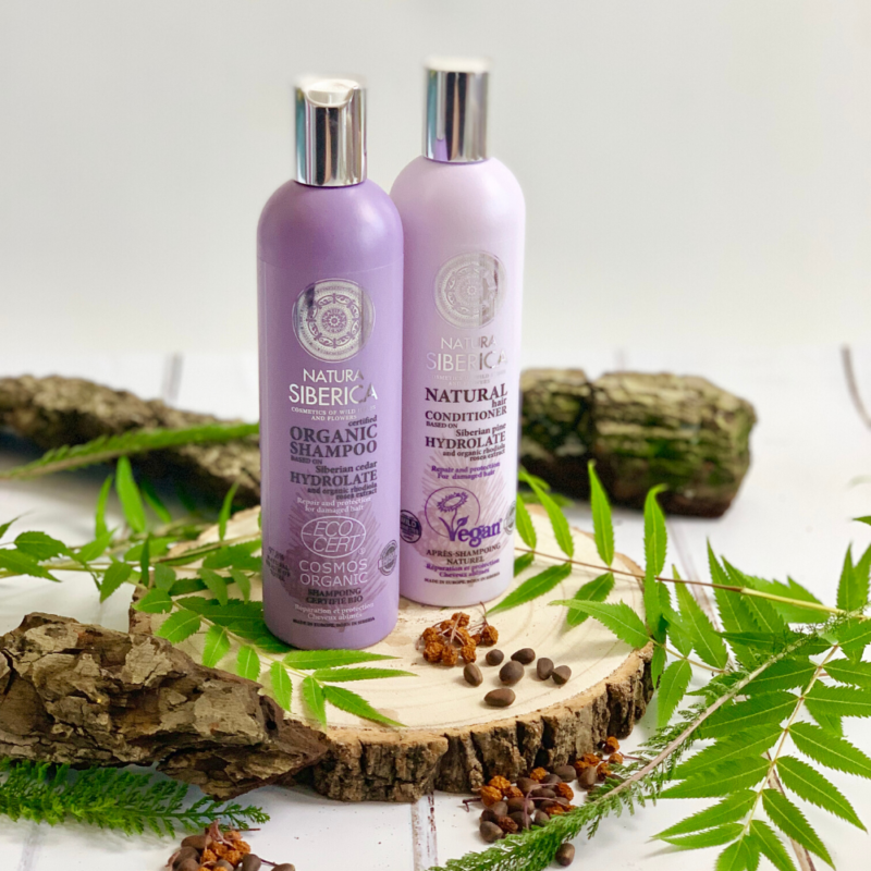 Win a hydrolate haircare duo plus surprise Christmas Gift Set from Natura Siberica, worth £35!