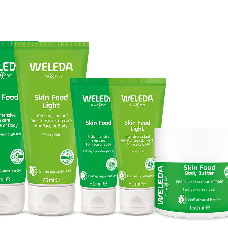 Win the full Weleda Skin Food collection!