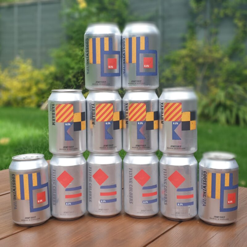 Win a 12 pack of award-winning alcohol-free beers from Jump Ship Brewing worth £25!