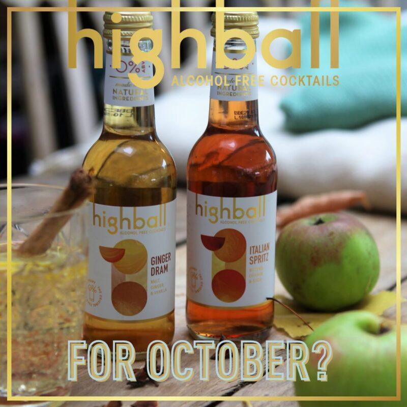 15% off – Great Taste AF Highball Cocktails this OCTOBER!