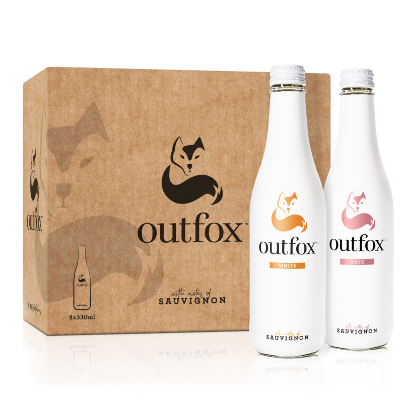 Win a case of Outfox premium non-alcoholic white and rose wine and stay on track beyond Dry January!