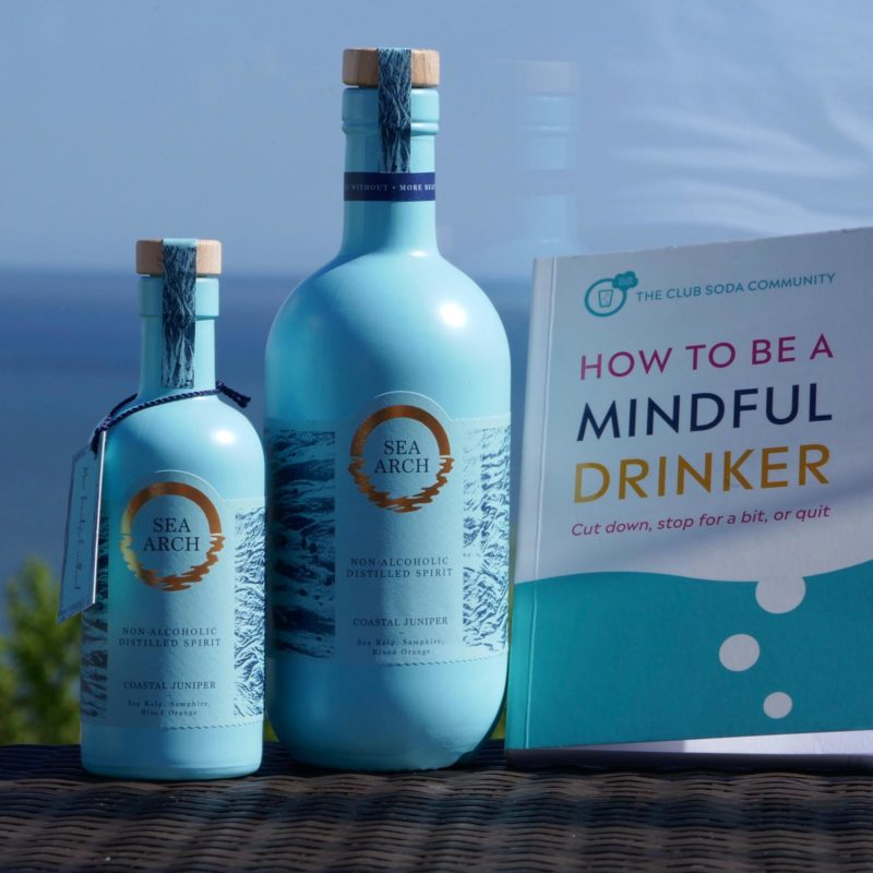 Win 2 bottles of Sea Arch PLUS a signed copy of How to be a Mindful Drinker