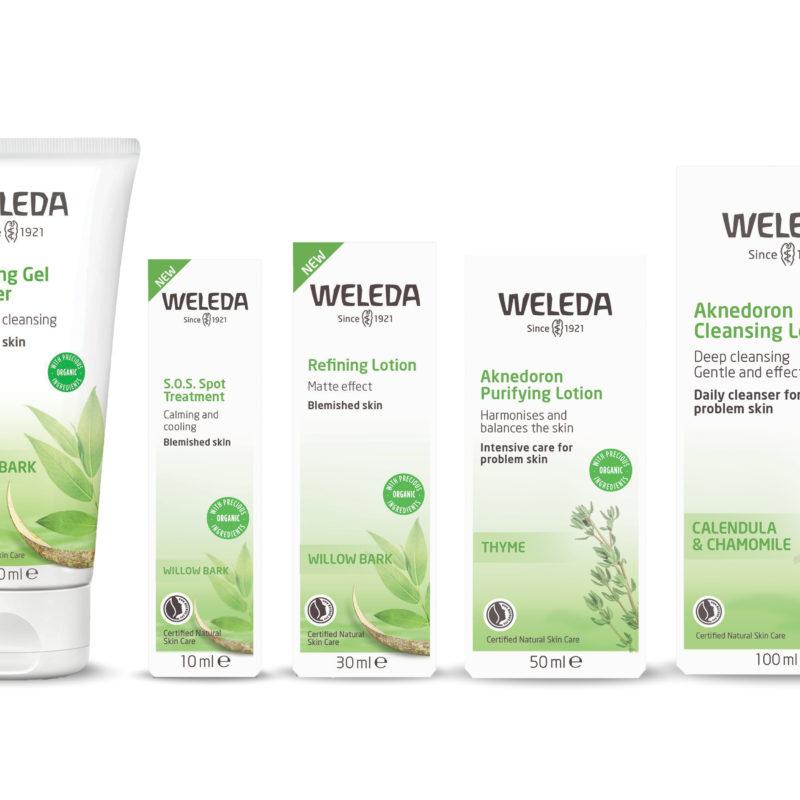Win the new Weleda Aknedoron Purifying range for blemish prone skin!