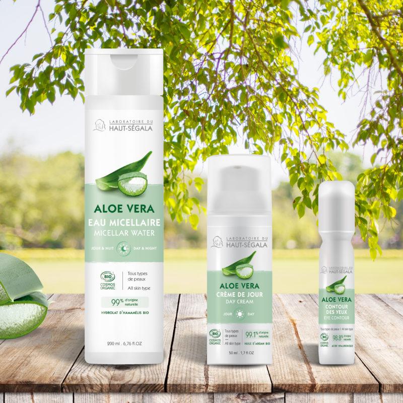 Win organic aloe vera skincare from Laboratoire du Haut-Segala worth £54!