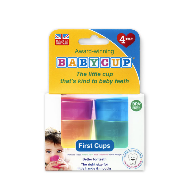 Win Babycup First Cups – the healthy way for little ones to learn to drink from a cup!