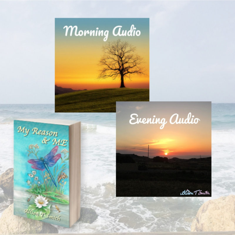 Win Alison T Smith's Book & Morning and Evening Audio Pack worth £29.97