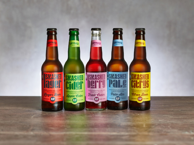 SMASHED – taste so good you won't realise they have absolutely 0% booze
