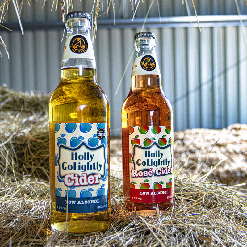 Win a mixed case of Holly GoLightly Low Alcohol Cider worth £26.99