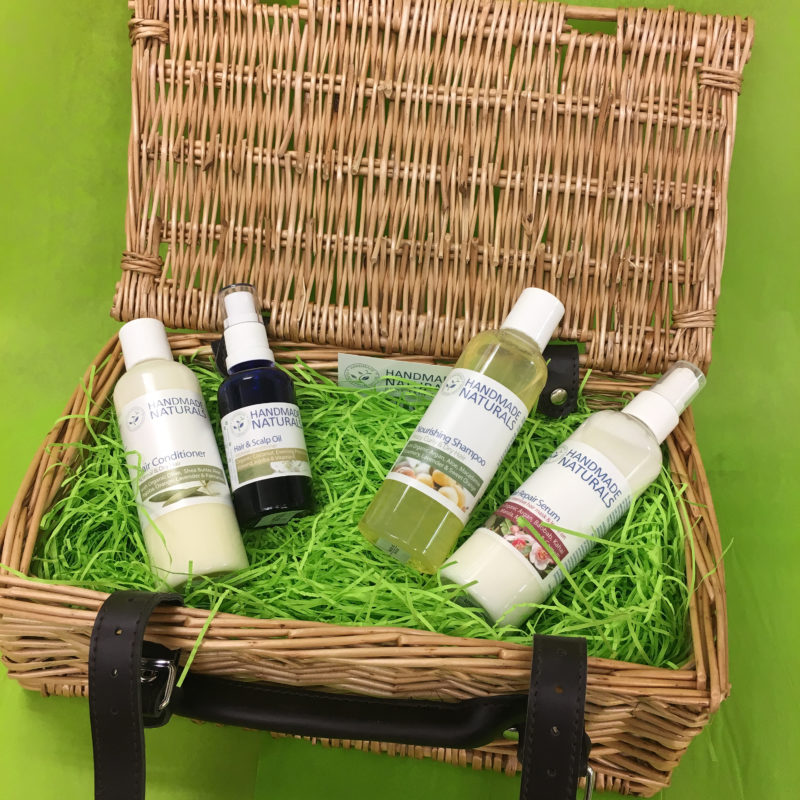 Win a Hair Care and Conditioning gift set from Handmade Naturals worth £26!