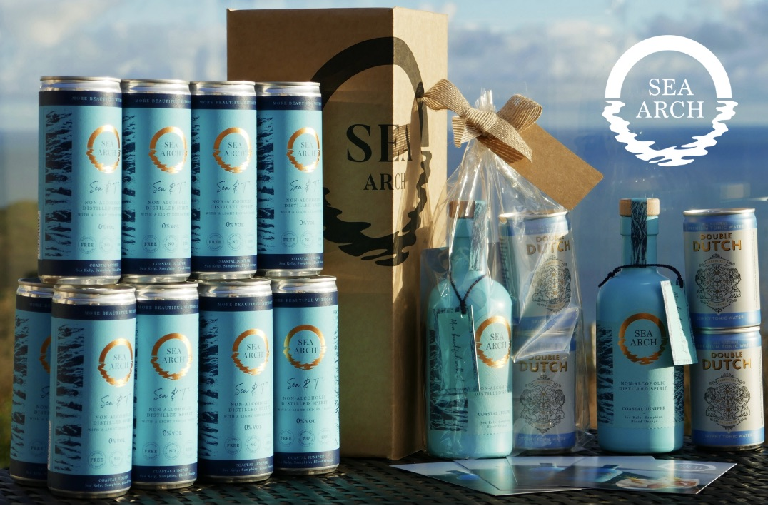 Win two Sea Arch gift packs + a case of 12 Sea & T's worth £68.00!