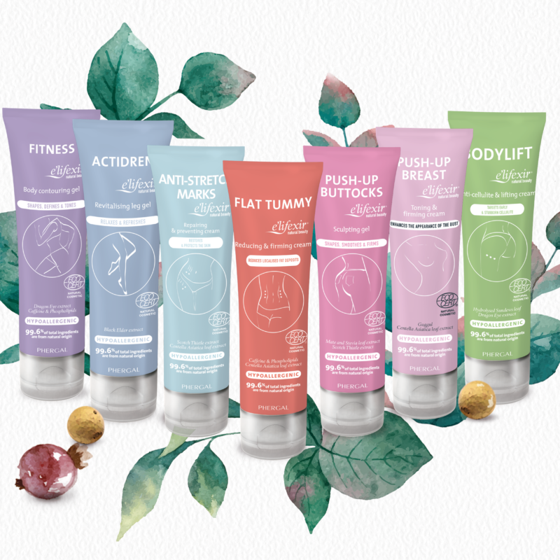 Win the full set of e'lifexir Natural Beauty body creams worth £111!