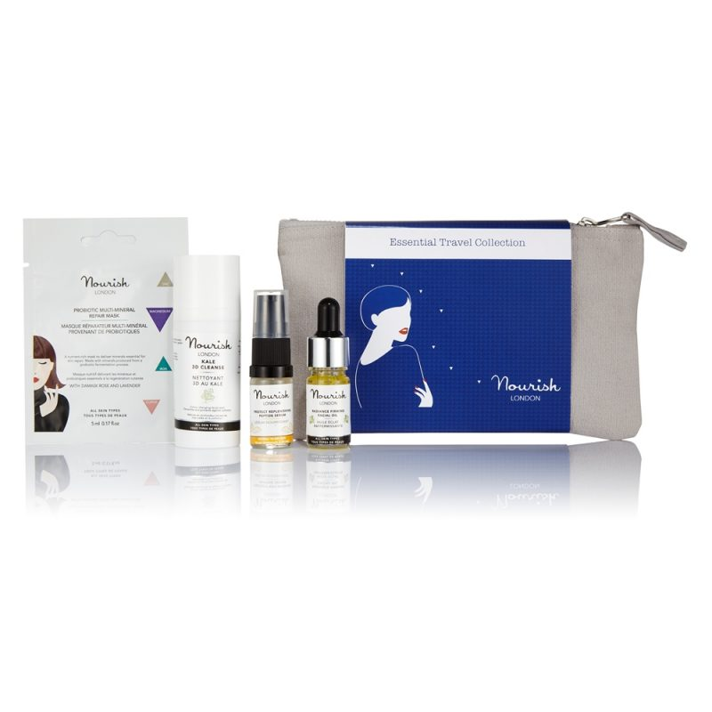 Win 1 of 2 Nourish London Essential Travel Collection worth £25!