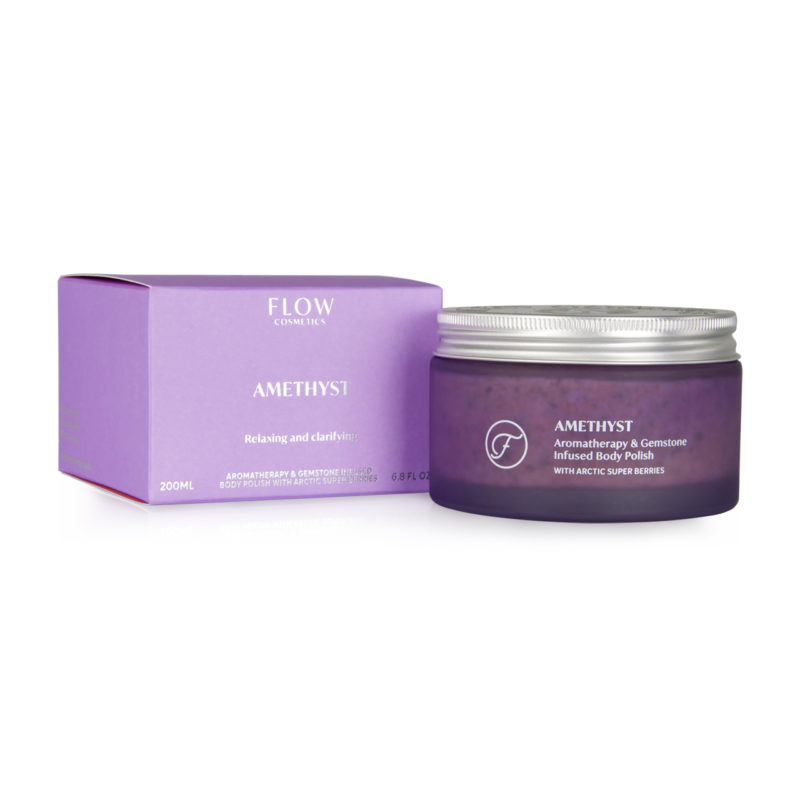Win Amethyst Body Polish by Flow Cosmetics worth over £30 from Niche & Cult!