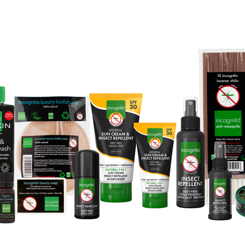 Win the complete Incognito range worth over £130!
