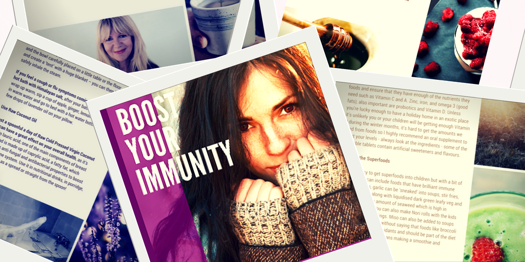 Immunity Boost Free Recipes eBook!