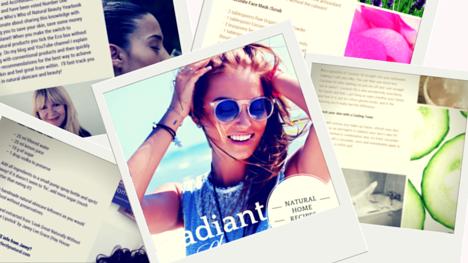 Radiant Summer Skin – Click Here For Your Free Recipes eBook!