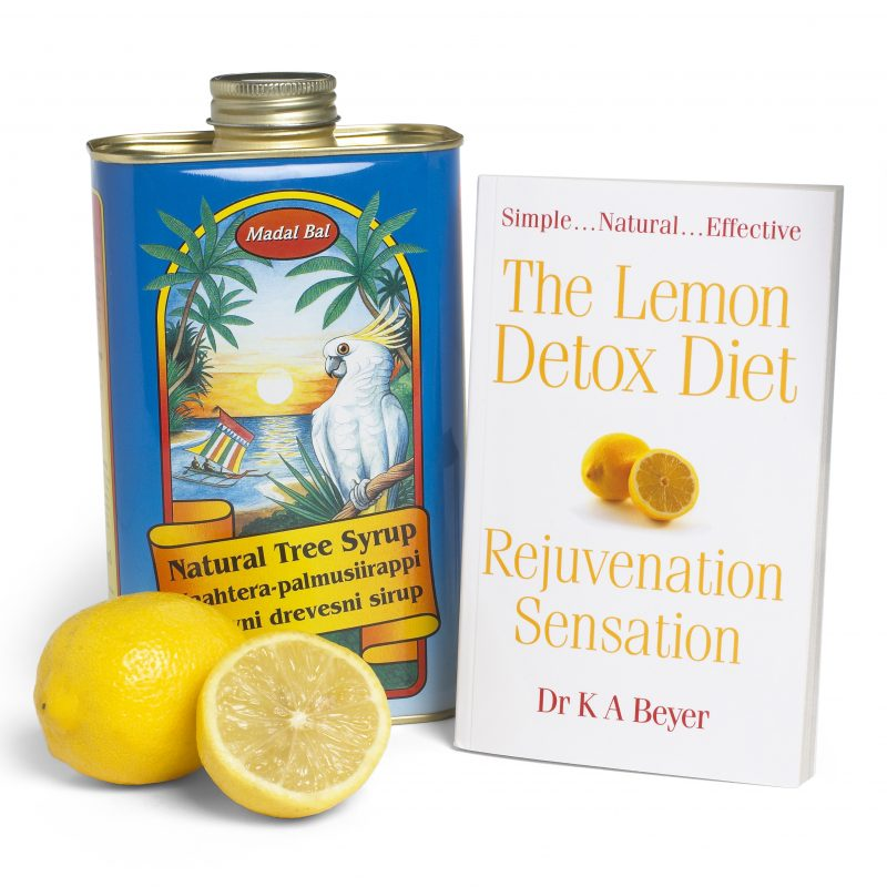 Win a Lemon Detox bundle (Madal Bal Natural Tree Syrup + Lemon Detox Diet book) with £48.98!