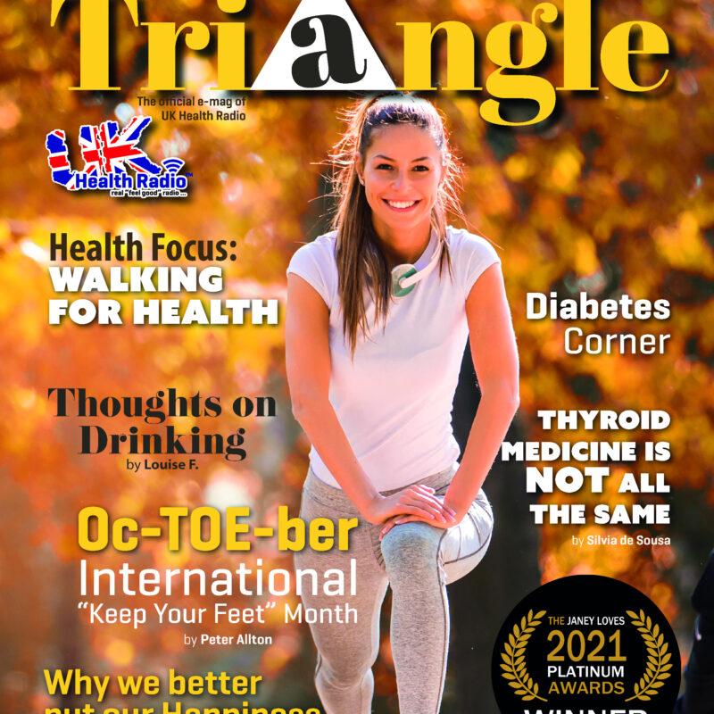 2021 Award Winners in October Health Triangle Magazine!
