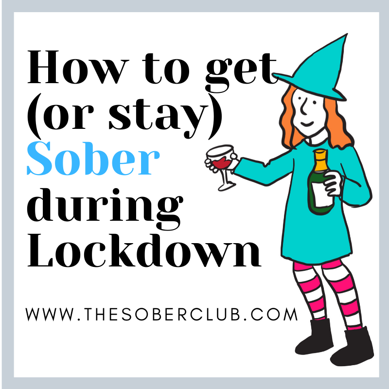 How to get or stay sober