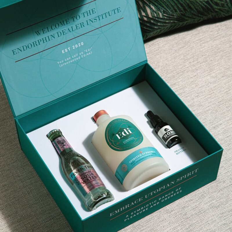 Win a luxury tasting box containing Spirited Euphoria – Edi's signature distilled endorphin spirit!