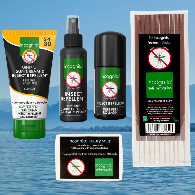 Win one of 5 luxury travel combos from incognito® worth over £30!