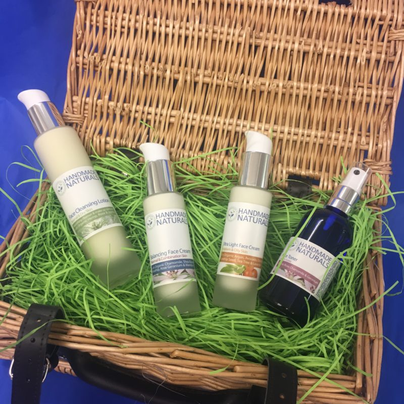 Win a classic Cleanse, Tone and Moisturise gift set from Handmade Naturals worth £43.40