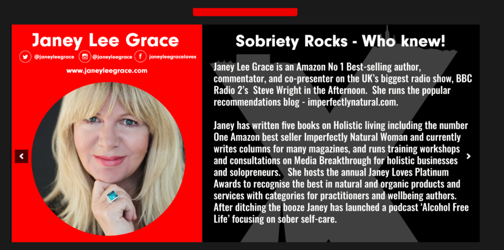Janey TEDX
