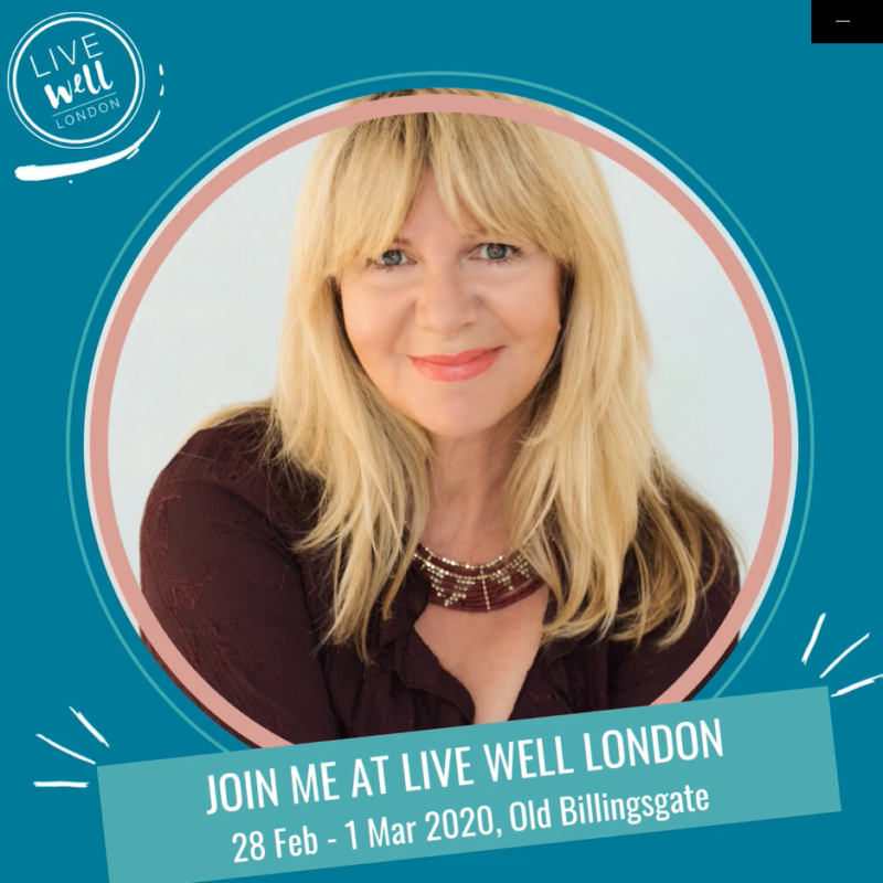 Join me at Live Well London!