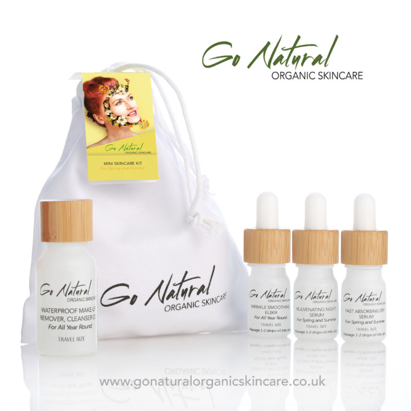 Win a Mini Skincare Kit from Go Natural Organicskincare worth £37!