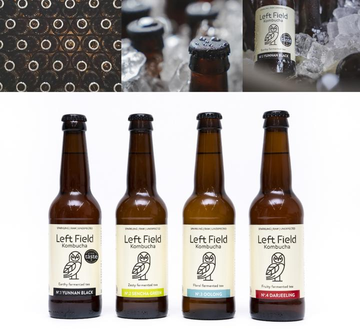 WIN a mixed case of the healthiest fizz in your fridge from Left Field Kombucha (worth £40)