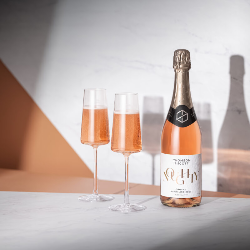 Win a case of Noughty – Organic Alcohol-Free Sparkling Rosé